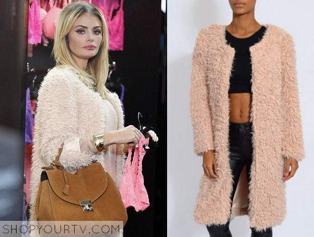 TOWIE: Season 13 Episode 10 Chloe's Pink Fluffy Coat | Shop Your TV