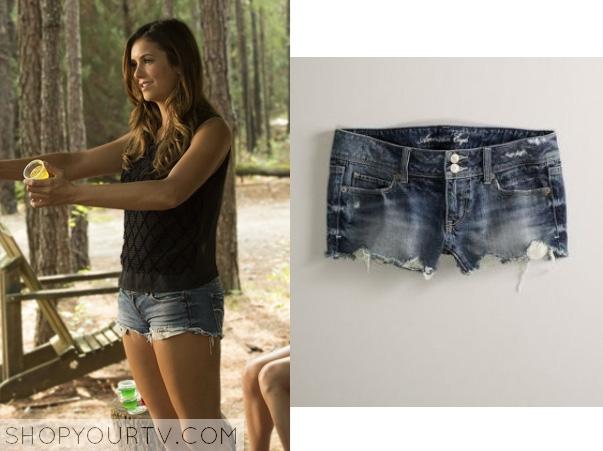 elena-denim shorts