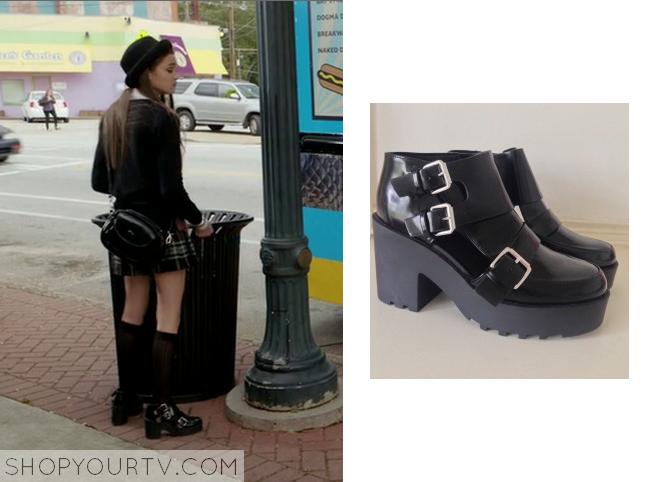 emma black boots