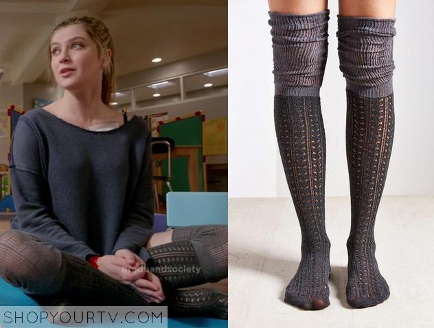 kara crochet socks