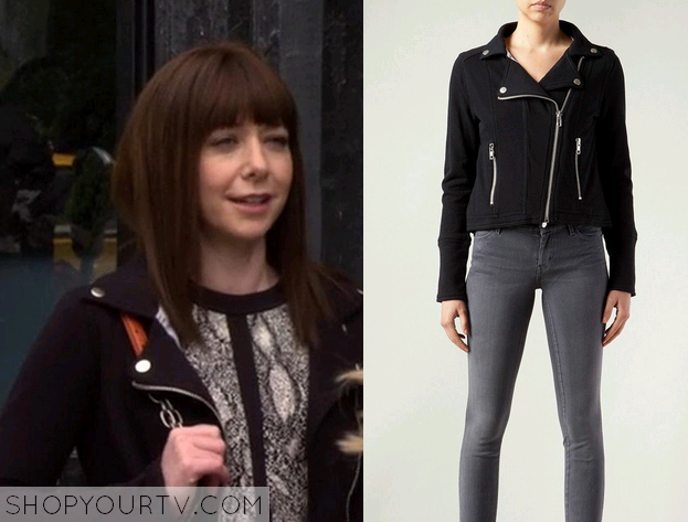 lily black jacket