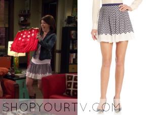 HIMYM: Season 9 Episode 22 Lily's Chevron Striped Skirt