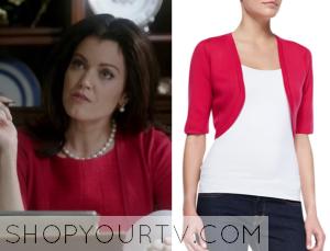 Scandal: Season 4 Episode 9 Mellie's Red Shrug