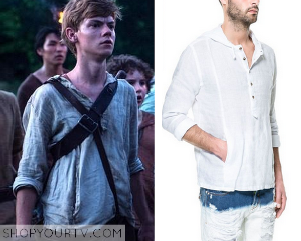 52fa84e0 The Maze Runner: Newt's Hooded Shirt | Shop Your TV