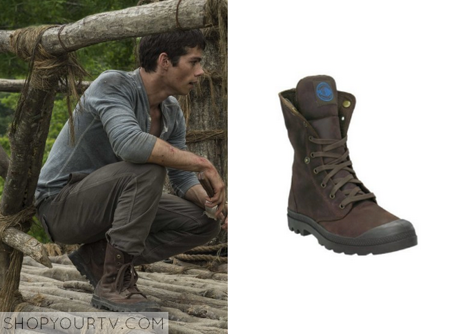 the maze runner thomas brown boots shop your tv