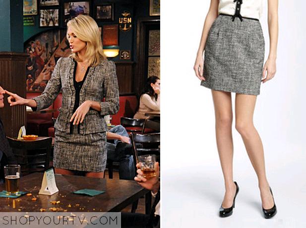 tiffany tweed skirt