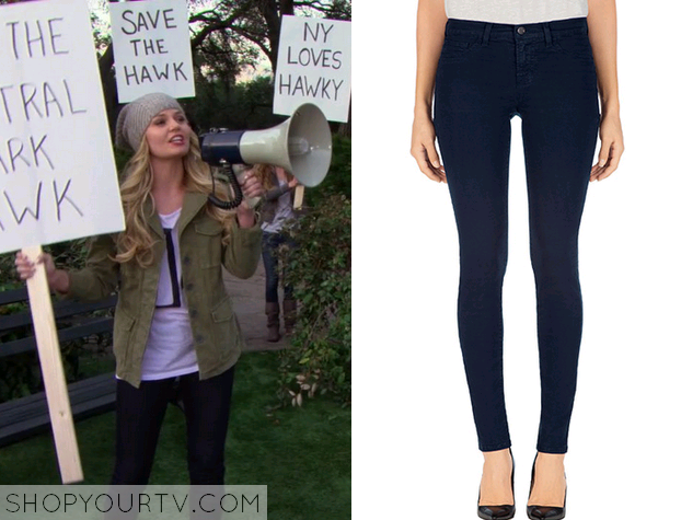 zoey navy jeans