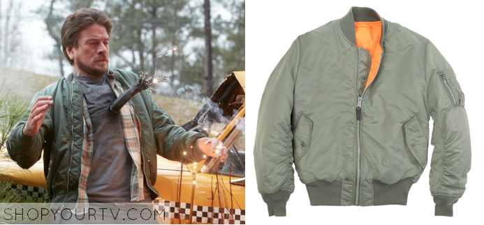 Constantine: Season 1 Episode 1 Chas&39 Green Flight Jacket |