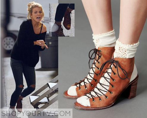 Stalker: Season 1 Episode 7 Nina's Lace Up Heel |