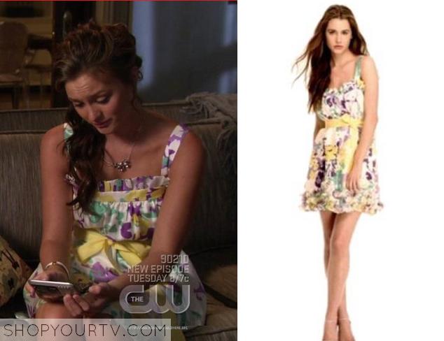 blair floral dress