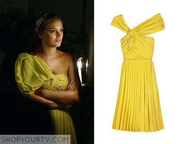 Serena yellow dress