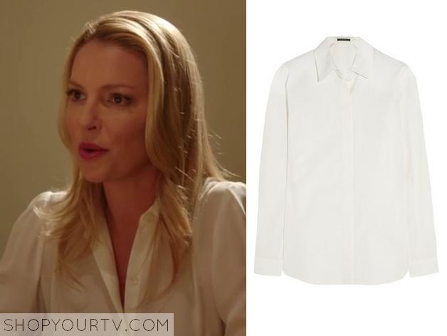charlie white blouse