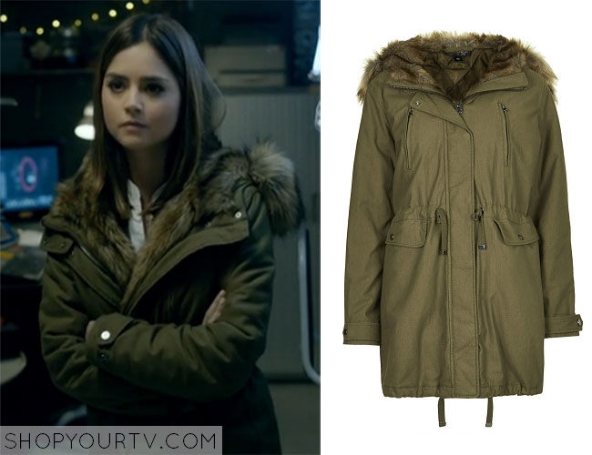 Last Christmas Doctor Who.Doctor Who Last Christmas Clara S Fur Trimmed Parka Shop