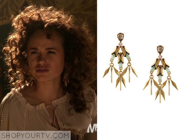 claude earrings
