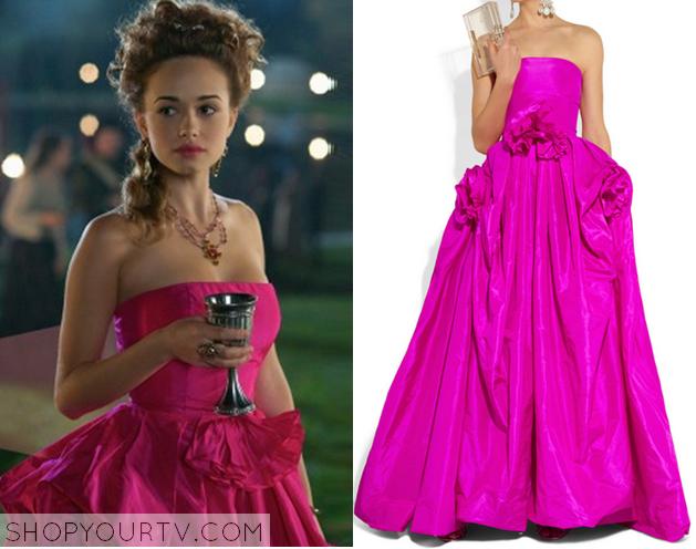 claude pink dress