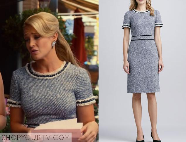 crickett grey tweed dress