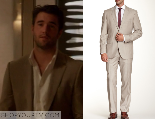 Revenge: Season 4 Episode 9 Daniel's Brown Suit | Shop Your TV