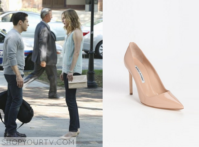emily nude pumps