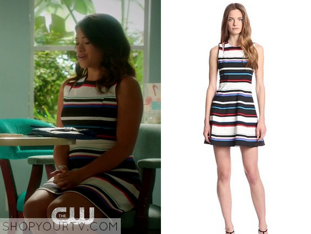 jane striped dress