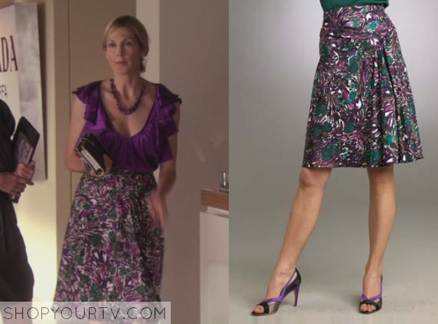 lil printed skirt