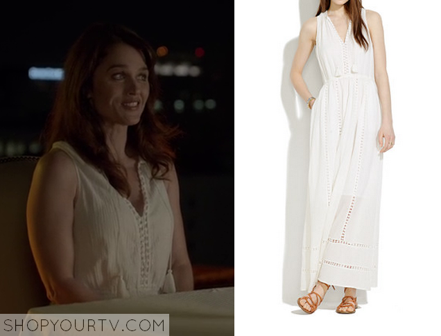 The Mentalist: Season 7 Episode 3 Lisbons White Tassel Maxi
