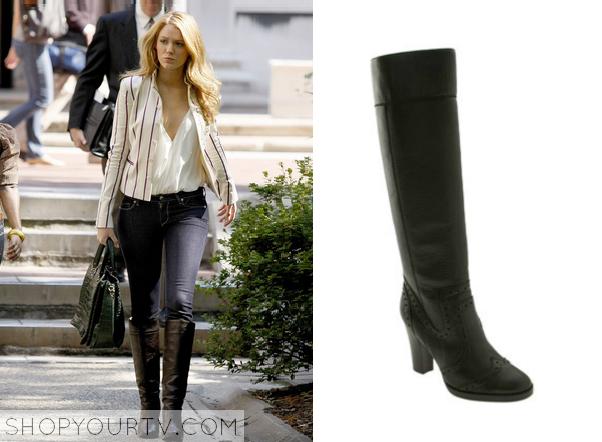 serena black boots