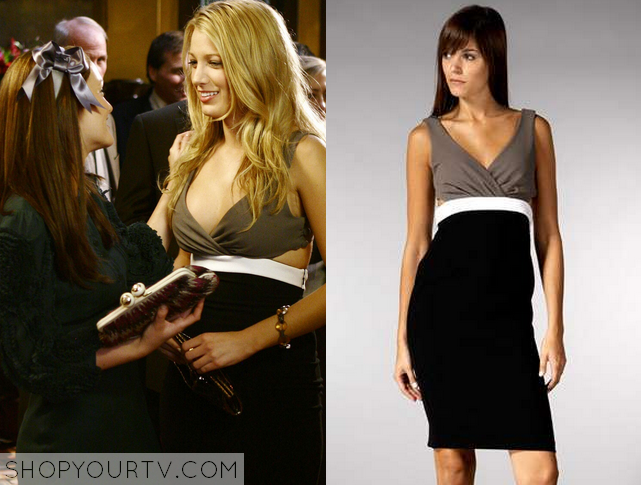 Serena Van Der Woodsen Black Dress
