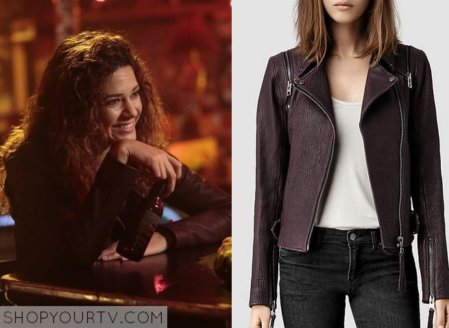 zed burgundy jacket