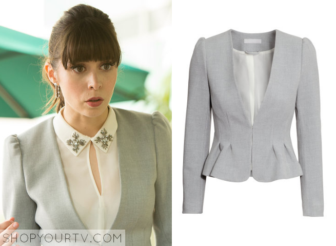 zelda grey blazer