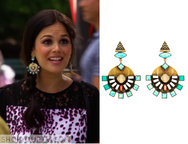 zoe geo earrings