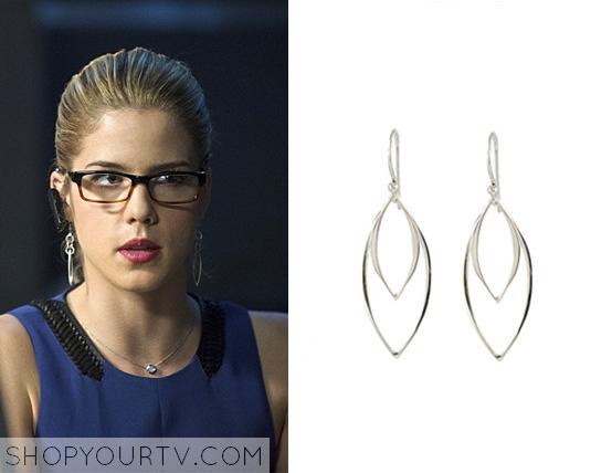 arrow felicity earrings www pixshark images