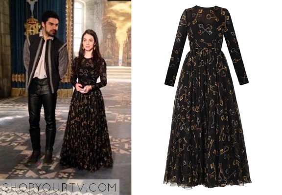 Shopyourtv reign fashion outfits clothing and wardrobe for Mary queen of scots replica jewelry