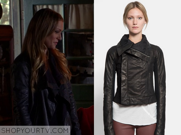 jennifer black leather jacket