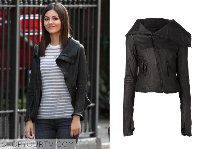 lindy leather jacket
