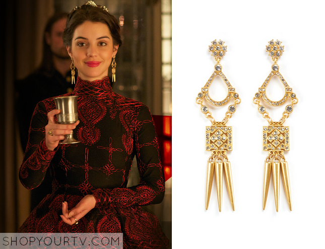 mary reign earrings