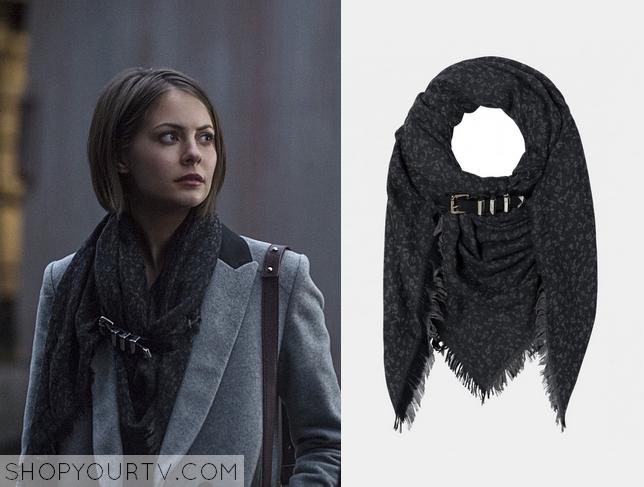 thea printed scarf