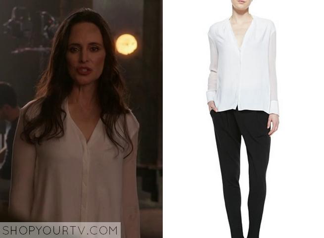 victoria white blouse