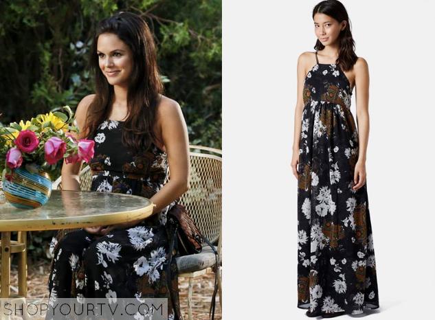 zoe floral maxi dress