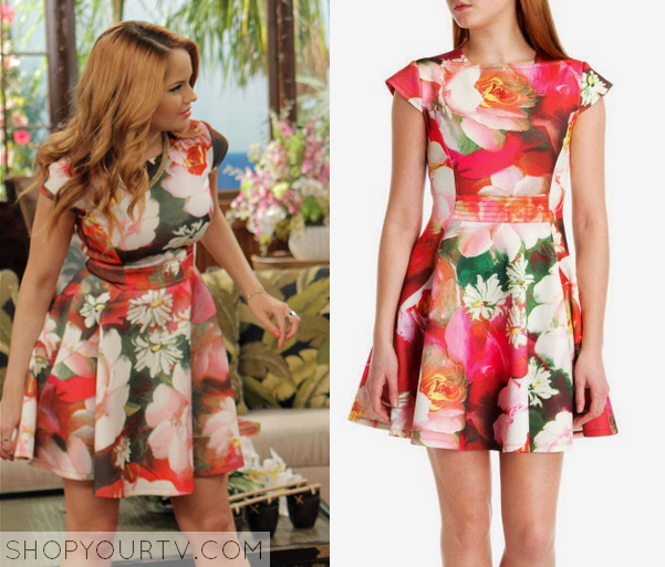 Jessie 3x26 Prescott Floral Dress