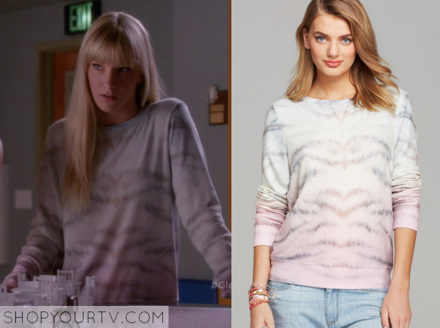 brittany tie dye sweater