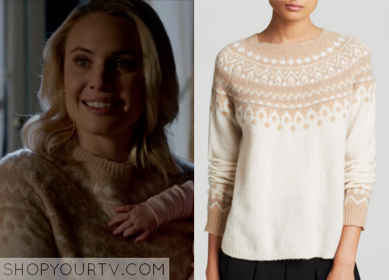 The Originals: Season 2 Episode 15 Camille's Fair Isle Pullover ...