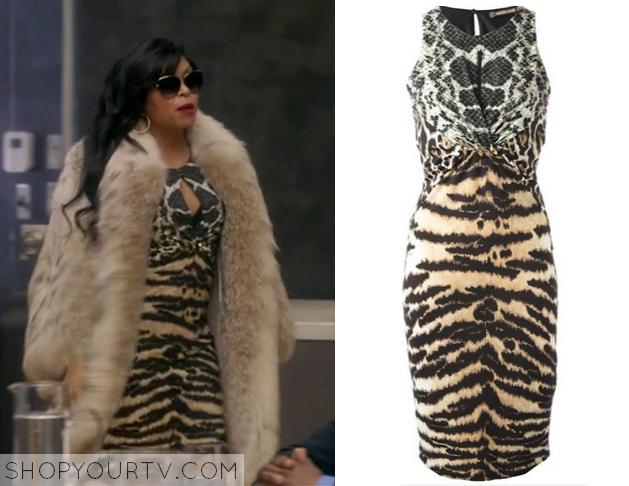 cookie leopard print dress