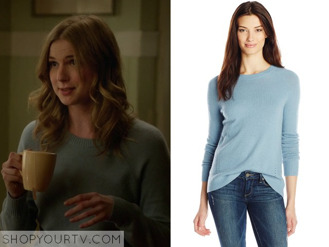 emily blue sweater