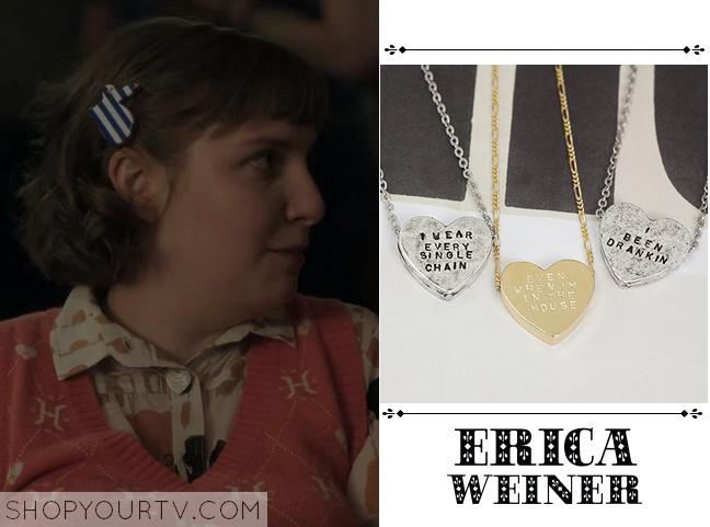 hannah heart necklace