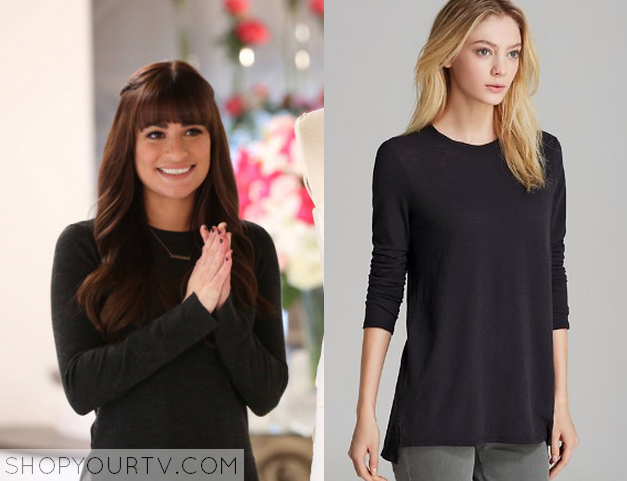 rachel black long sleeve top