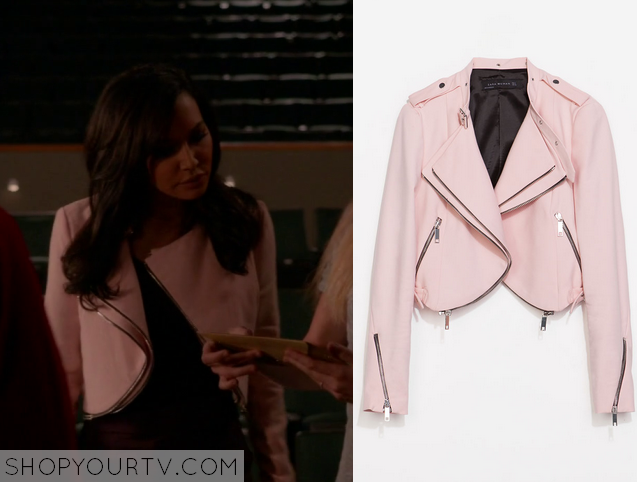 santana pink jacket