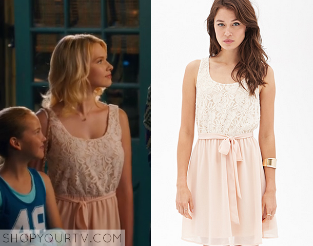 Hart of Dixie 4x7 Magnolia Breeland Lace Tie Up Dress