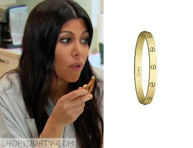 Gold Bracelet Kourtney Kardashian Wears The Best Ancgweb Org Of 2018