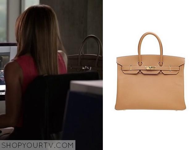 liza's leather bag