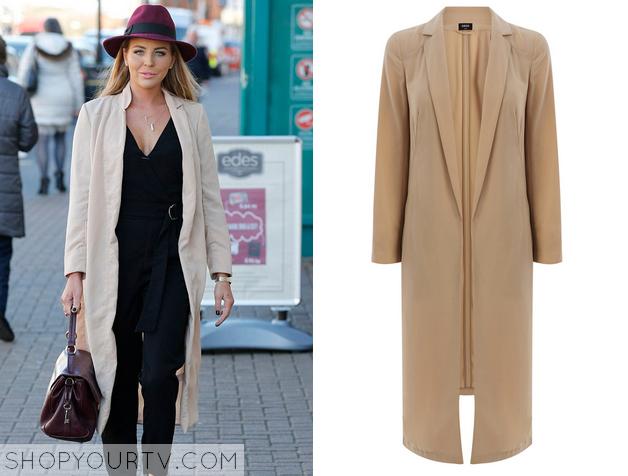 lydia duster coat